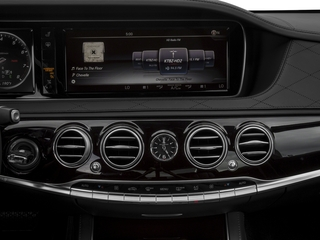2016 Mercedes-Benz S-Class Pictures S-Class Sedan 4D S600 Maybach V12 Turbo photos stereo system
