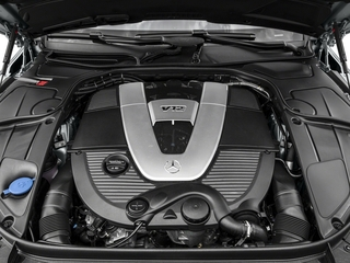 2016 Mercedes-Benz S-Class Pictures S-Class Sedan 4D S600 Maybach V12 Turbo photos engine