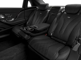 2016 Mercedes-Benz S-Class Pictures S-Class Sedan 4D S600 Maybach V12 Turbo photos backseat interior