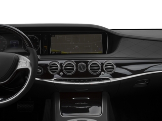 2016 Mercedes-Benz S-Class Pictures S-Class Sedan 4D S600 Maybach V12 Turbo photos navigation system