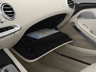 2016 Mercedes-Benz S-Class Pictures S-Class Coupe 2D S63 AMG AWD V8 Turbo photos glove box
