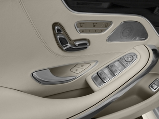 2016 Mercedes-Benz S-Class Pictures S-Class Coupe 2D S63 AMG AWD V8 Turbo photos driver's side interior controls