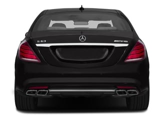 2016 Mercedes-Benz S-Class Pictures S-Class Sedan 4D S63 AMG AWD V8 Turbo photos rear view