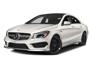 2016 Mercedes-Benz CLA Pictures CLA Sedan 4D CLA45 AMG AWD I4 Turbo photos side front view