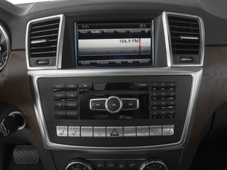 2016 Mercedes-Benz GL Pictures GL Utility 4D GL350 BlueTEC 4WD V6 photos stereo system