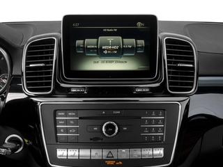 2016 Mercedes-Benz GLE Pictures GLE Utility 4D GLE450 Sport Coupe AWD V6 photos stereo system