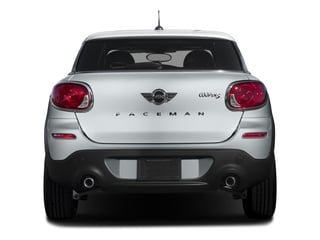 2016 MINI Cooper Paceman Pictures Cooper Paceman Coupe 2D Paceman JCW AWD I4 Turbo photos rear view