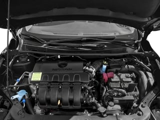2016 Nissan Sentra Pictures Sentra Sedan 4D SV I4 photos engine