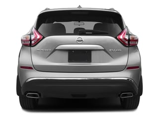 2016 Nissan Murano Pictures Murano Utility 4D S 2WD V6 photos rear view