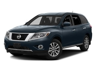 2016 Nissan Pathfinder Pictures Pathfinder Utility 4D SV 2WD V6 photos side front view