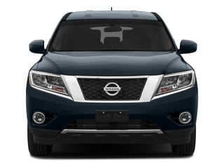 2016 Nissan Pathfinder Pictures Pathfinder Utility 4D SV 2WD V6 photos front view