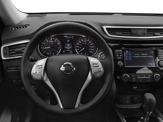 2016 Nissan Rogue Pictures Rogue Utility 4D SV AWD I4 photos driver's dashboard