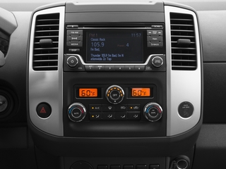 2016 Nissan Frontier Pictures Frontier King Cab SV 2WD photos stereo system