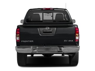 2016 Nissan Frontier Pictures Frontier Crew Cab SV 4WD photos rear view