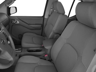 2016 Nissan Frontier Pictures Frontier Crew Cab SV 4WD photos front seat interior