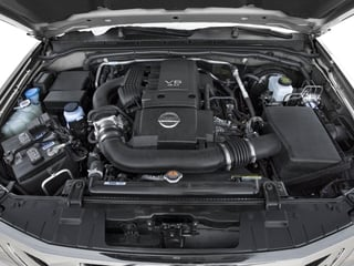 2016 Nissan Frontier Pictures Frontier Crew Cab S 2WD photos engine