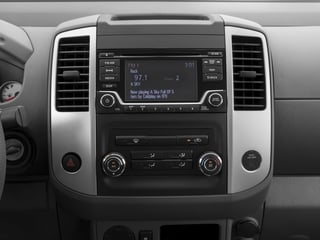 2016 Nissan Frontier Pictures Frontier Crew Cab Desert Runner 2WD photos stereo system