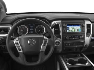 2016 Nissan Titan XD Pictures Titan XD Crew Cab SV 2WD V8 photos driver's dashboard