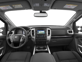 2016 Nissan Titan XD Pictures Titan XD Crew Cab SV 2WD V8 photos full dashboard