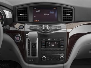 2016 Nissan Quest Pictures Quest Wagon 5D SL V6 photos stereo system