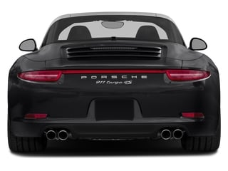 2016 Porsche 911 Pictures 911 Coupe 2D 4S Targa AWD photos rear view