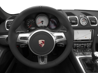 2016 Porsche Boxster Pictures Boxster Roadster 2D Black Edition H6 photos driver's dashboard