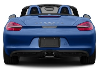 2016 Porsche Boxster Pictures Boxster Roadster 2D H6 photos rear view