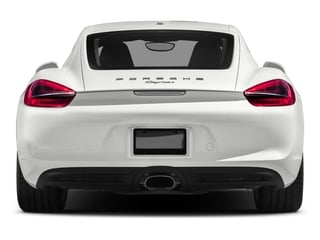 2016 Porsche Cayman Pictures Cayman Coupe 2D H6 photos rear view