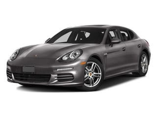 2016 Porsche Panamera Pictures Panamera Hatchback 4D 4 AWD H6 photos side front view