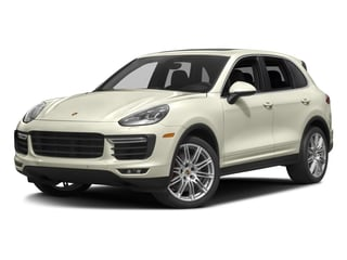 2016 Porsche Cayenne Pictures Cayenne Utility 4D AWD V8 Turbo photos side front view