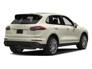 2016 Porsche Cayenne Pictures Cayenne Utility 4D AWD V8 Turbo photos side rear view
