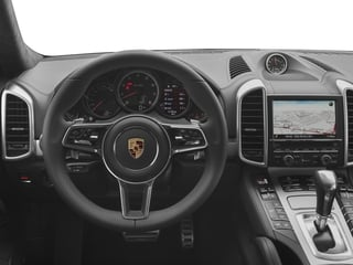 2016 Porsche Cayenne Pictures Cayenne Utility 4D AWD V8 Turbo photos driver's dashboard