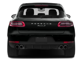 2016 Porsche Macan Pictures Macan Utility 4D AWD V6 Turbo photos rear view