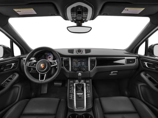 2016 Porsche Macan Pictures Macan Utility 4D AWD V6 Turbo photos full dashboard