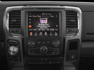2016 Ram Truck 1500 Pictures 1500 Crew Cab Express 4WD photos stereo system