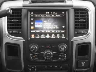 2016 Ram Truck 2500 Pictures 2500 Mega Cab SLT 2WD photos stereo system