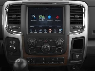 2016 Ram Truck 3500 Pictures 3500 Mega Cab Limited 4WD photos stereo system