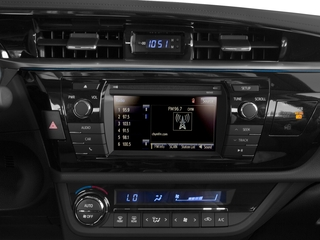 2016 Toyota Corolla Pictures Corolla Sedan 4D S I4 photos stereo system