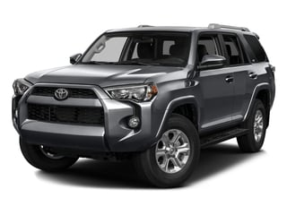 2016 Toyota 4Runner Pictures 4Runner Utility 4D SR5 2WD V6 photos side front view