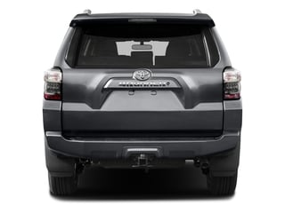 2016 Toyota 4Runner Pictures 4Runner Utility 4D SR5 2WD V6 photos rear view