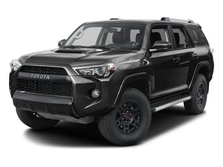 2016 Toyota 4Runner Pictures 4Runner Utility 4D TRD Pro 4WD V6 photos side front view