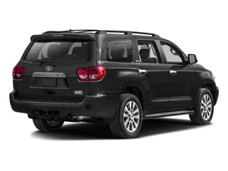 2016 Toyota Sequoia Pictures Sequoia Utility 4D Platinum 4WD V8 photos side rear view