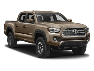 2016 Toyota Tacoma Pictures Tacoma TRD Off-Road Crew Cab 2WD V6 photos side front view
