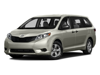 2016 Toyota Sienna Pictures Sienna Wagon 5D L V6 photos side front view
