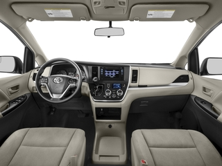 2016 Toyota Sienna Pictures Sienna Wagon 5D L V6 photos full dashboard