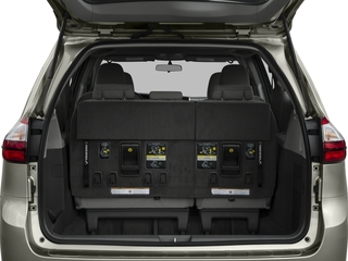 2016 Toyota Sienna Pictures Sienna Wagon 5D L V6 photos open trunk
