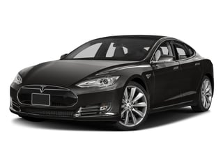 2016 Tesla Motors Model S Pictures Model S Sed 4D D Performance 90 kWh AWD Elec photos side front view