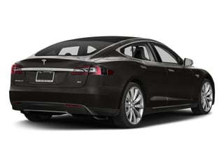 2016 Tesla Motors Model S Pictures Model S Sed 4D D Performance 90 kWh AWD Elec photos side rear view