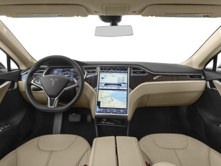 2016 Tesla Motors Model S Pictures Model S Sed 4D D Performance 90 kWh AWD Elec photos full dashboard