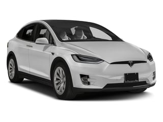 2016 Tesla Motors Model X Pictures Model X Utility 4D Performance AWD photos side front view